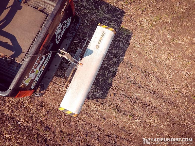 Topsoil Mapper в действии