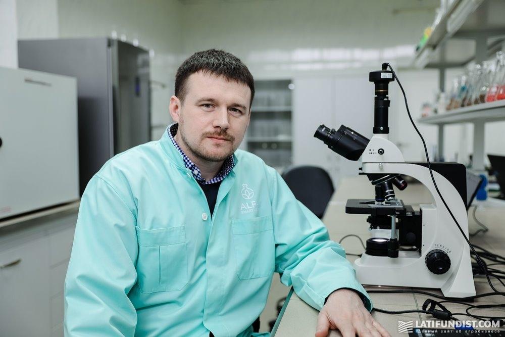 Сергей Кнечунас, кандидат с.-х. наук, директор по развитию и управлению портфелем продуктов ALFA Smart Agro