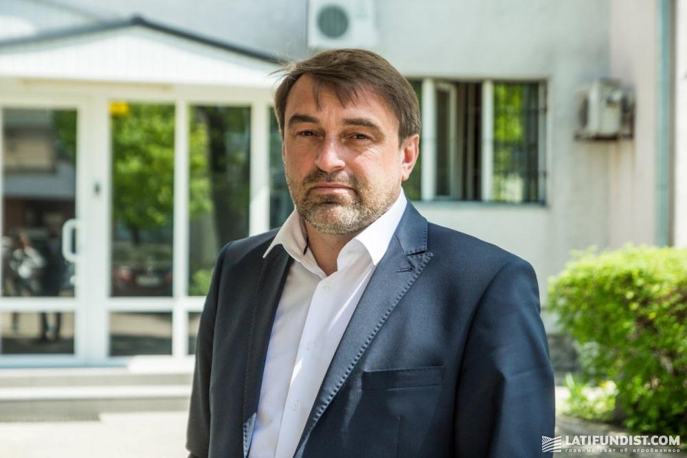 Виталий Ставничук, директор по производству «Континентал Фармерз Групп»