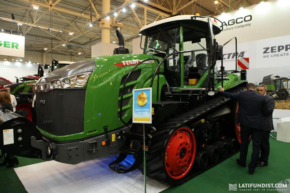 Гусеничный трактор Fendt 1159 МТ