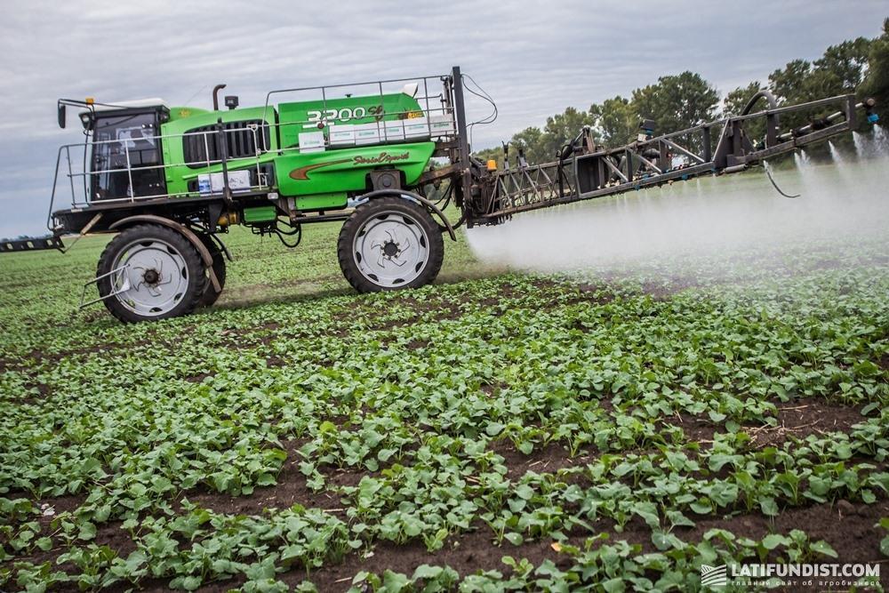 Кража средств защиты растений не приносит больших убытков холдингам