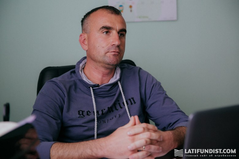 Viktor Doroshenko, chief agronomist of Agro-S (an MHP subsidiary)