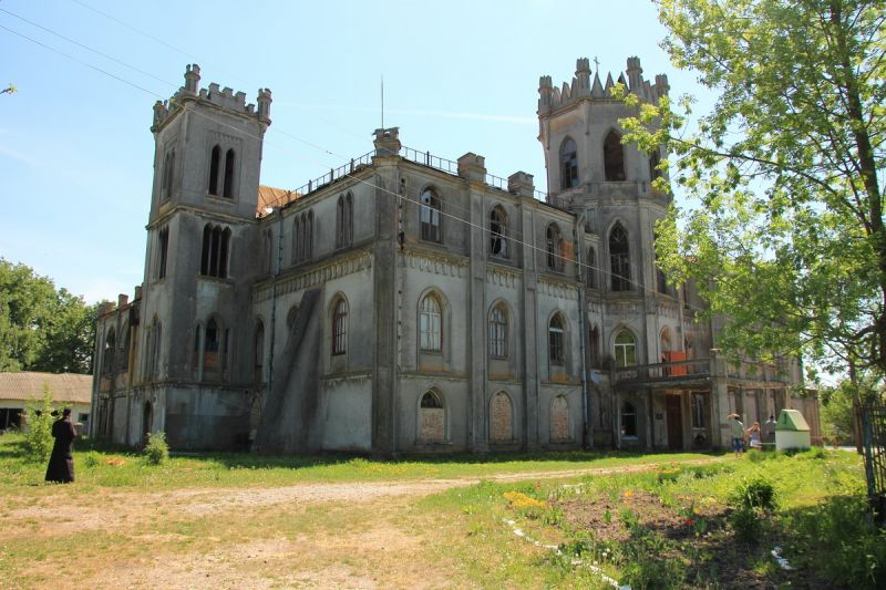 Женский монастырь Рождества Христова, бывший дворец Терещенко