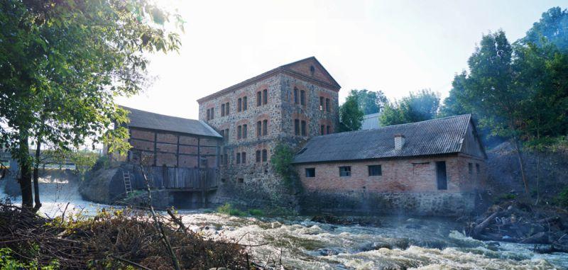 Ягнятинская мельница в с. Ягнятин (Житомирская область)