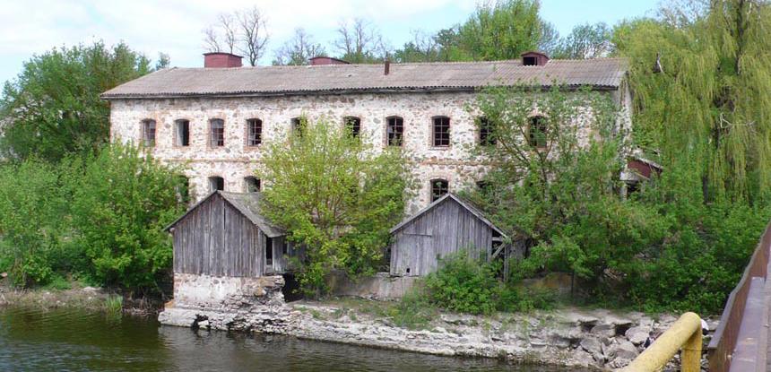 Мельница в селе Паволочь
