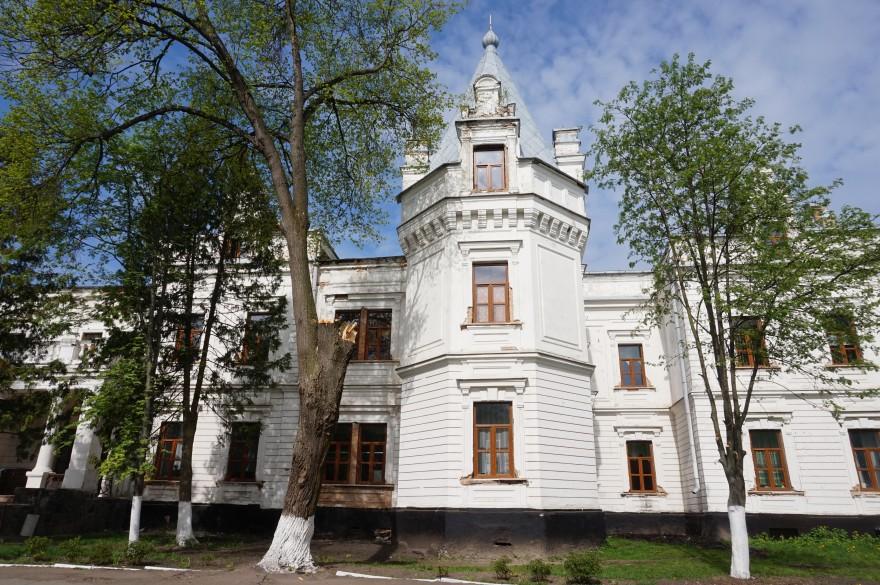 Дворец Бержинских-Терещенко в Андрушевке