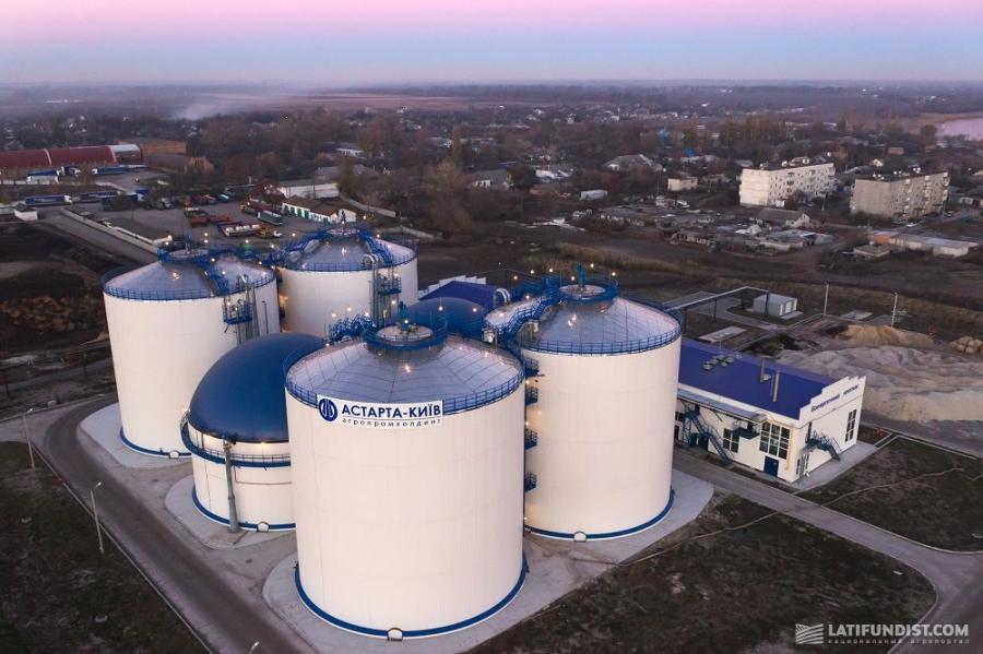 Биоэнергетический комплекс компании «Астарта-Киев»