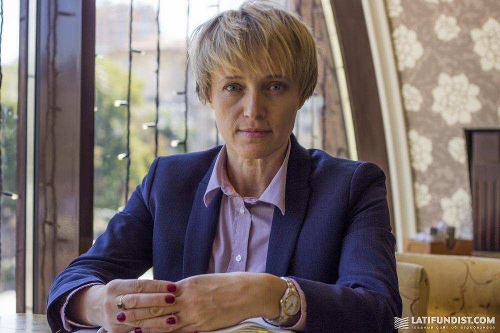 Заместитель министра аграрной политики и продовольствия Украины по вопросам евроинтеграции Ольга Трофимцева