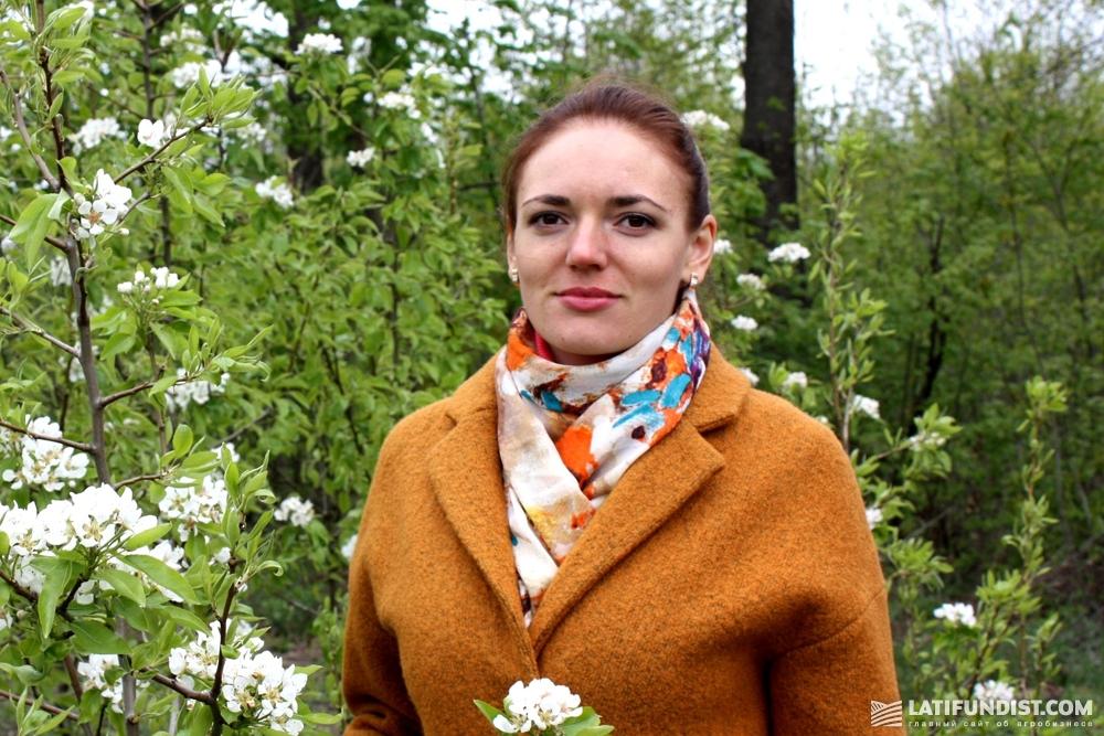 Президент Академии органического садоводства Ekogarden Валентина Лановенко
