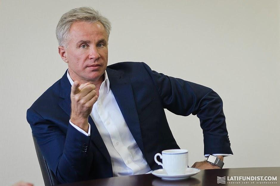 Юрий Косюк, председатель правления МХП