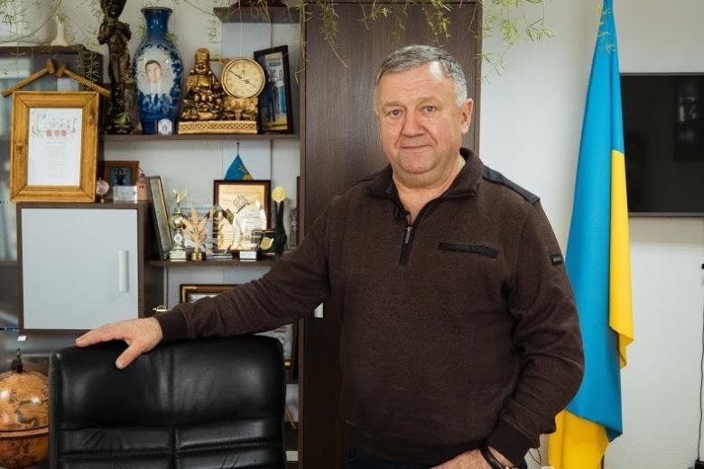 Павел Каленич, директор агрофирмы «Ольгополь»