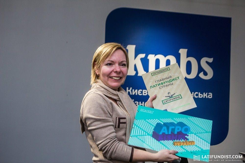 Анна Шкуратяна — победительница LATIFUNDIA Business Game за вторым столом