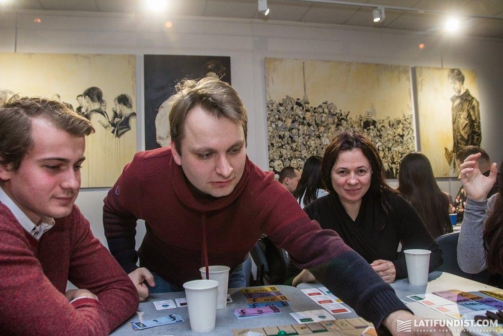 Игроки третьего стола
