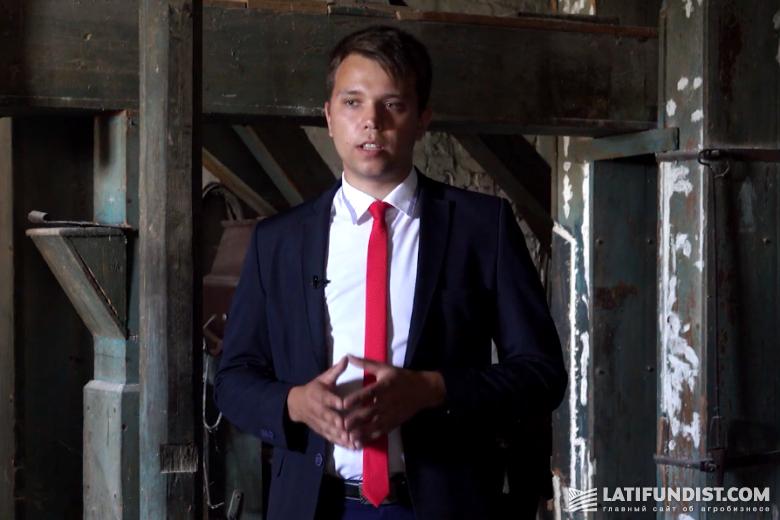 Александр Бойко, учитель местной школы и активист