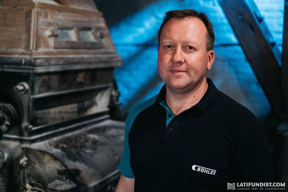 Андрей Шаран, генеральный директор компании «Бюлер Украина»