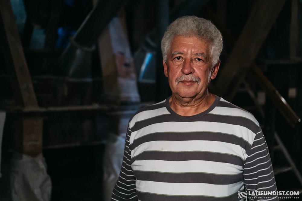 Леонид Даниленко, голова села Бобрик