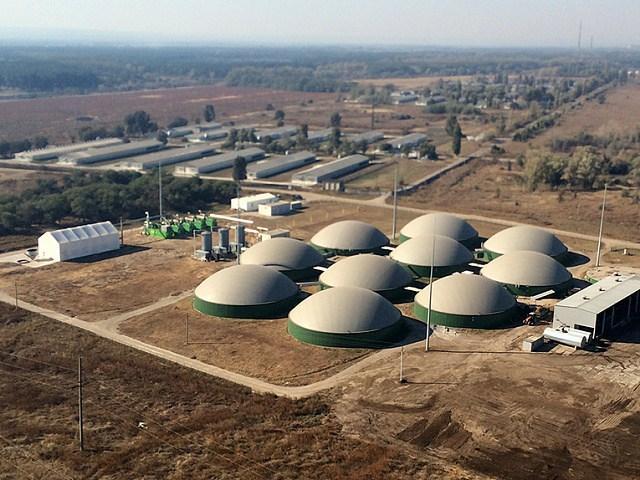 Биогазовый комплекс «Мироновского хлебопродукта» на птицефабрике «Ориль-Лидер»