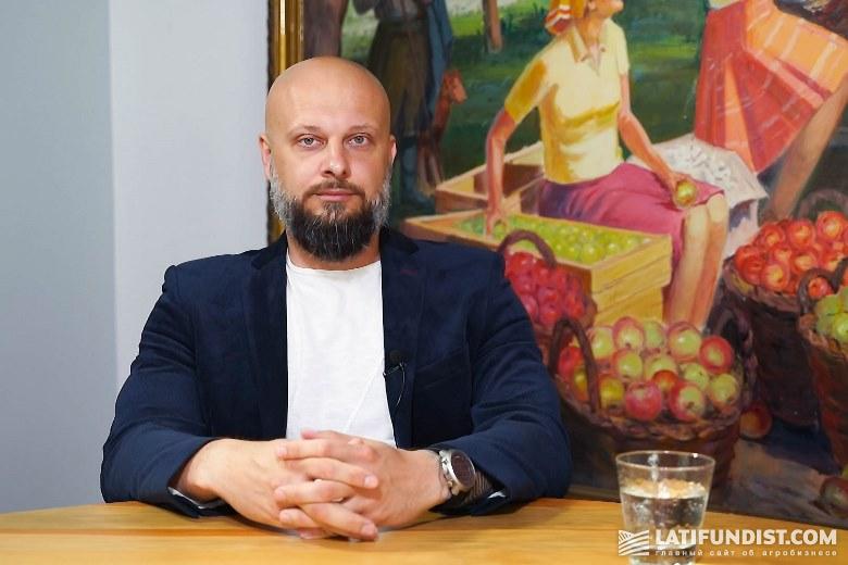Виталий Лавров, трейдер зерновых и бобовых культур «Прометей»