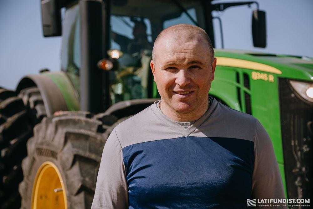 Сергей Хаблак, начальник отдела внедрения и мониторинга технологий в растениеводстве холдинга A.G.R. Group