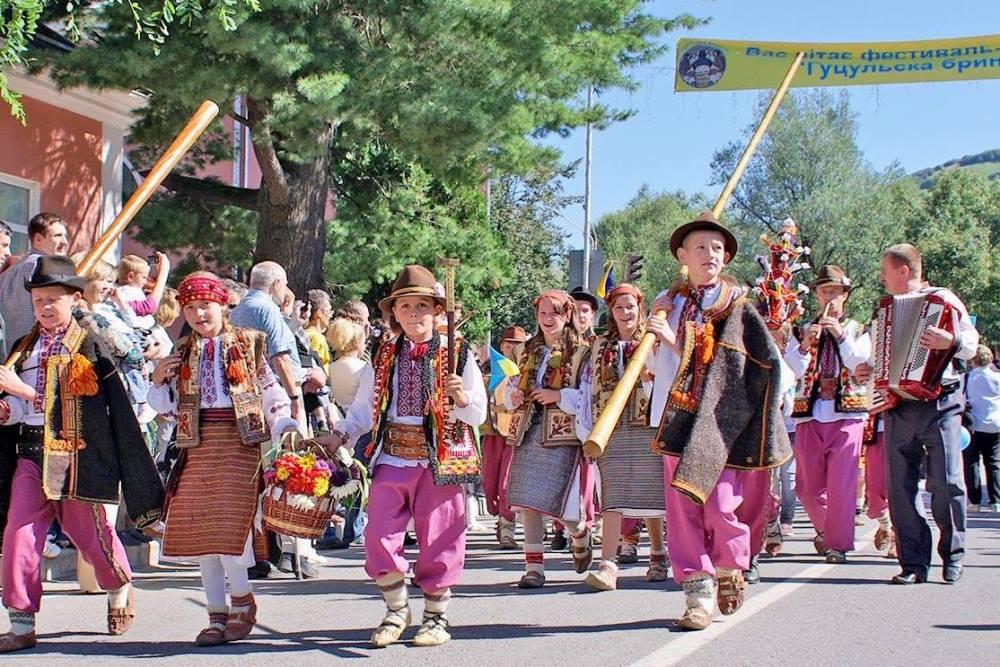 Фестиваль-ярмарка «Гуцульская брынза»