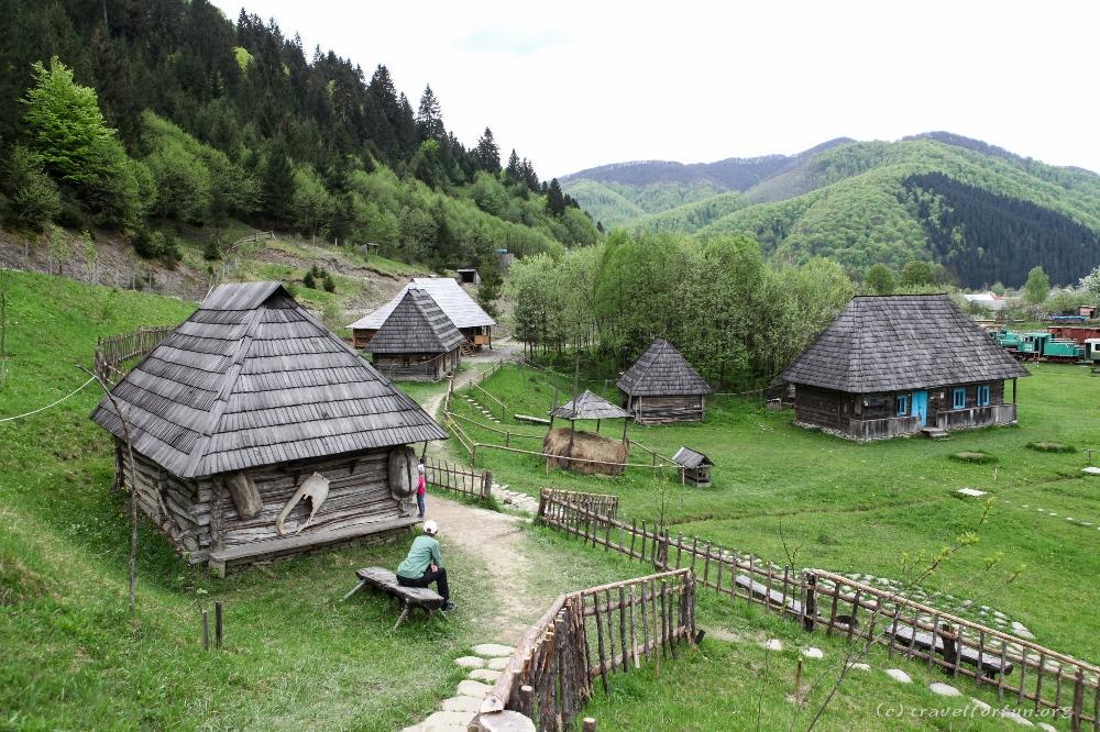 Скансен «Старое село» в селе Колочава