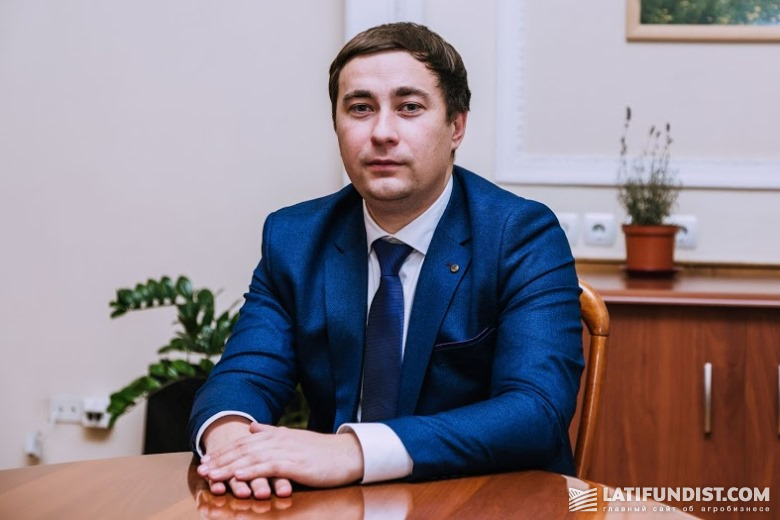 Роман Лещенко, глава Госгеокадастра Украины