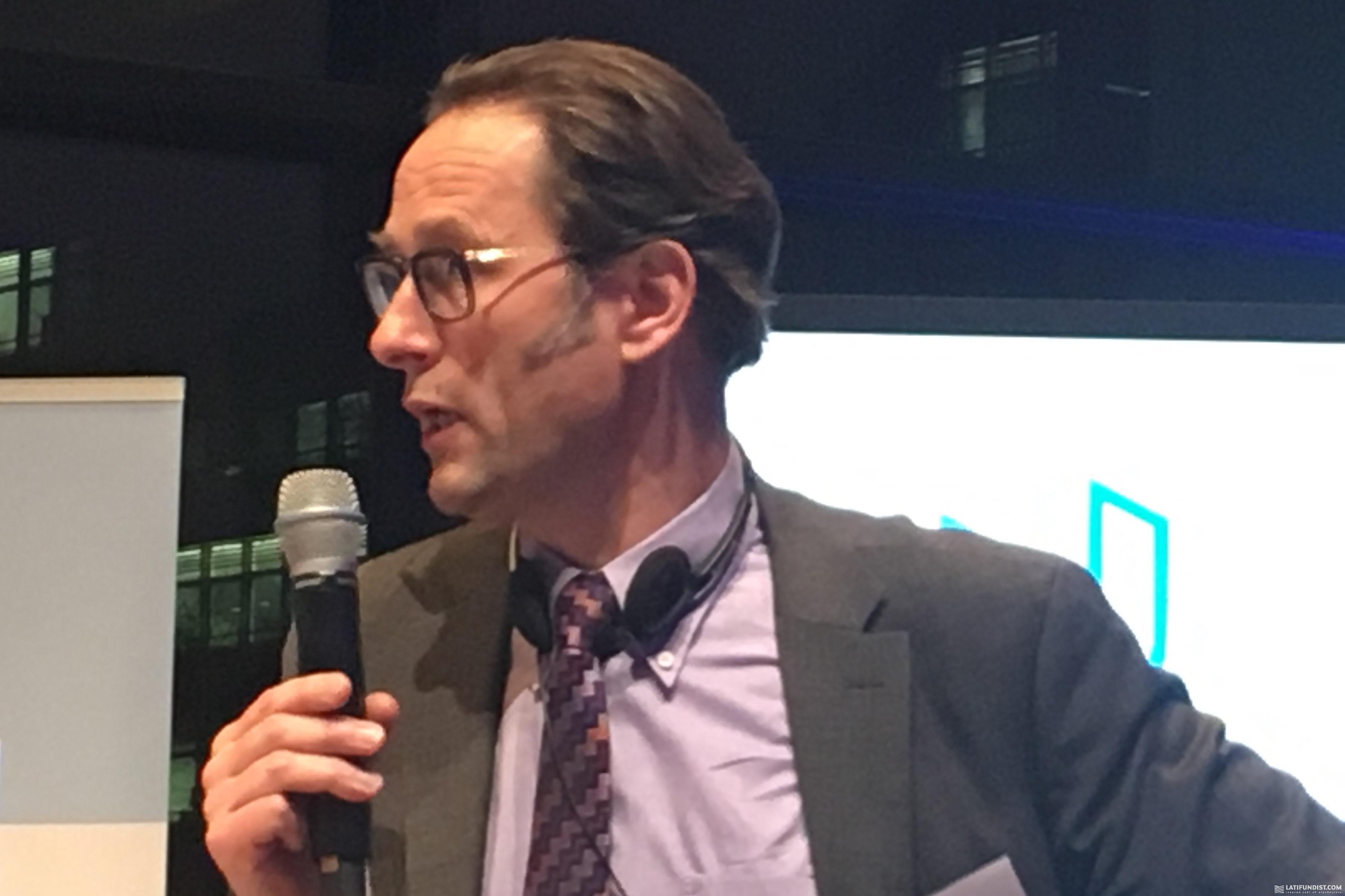 Томас Оттер, главный управляющий Landesbank Baden-Württemberg