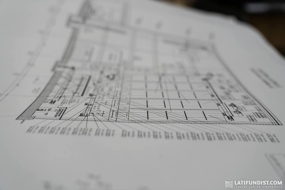 План завода VITAGRO Nutrition