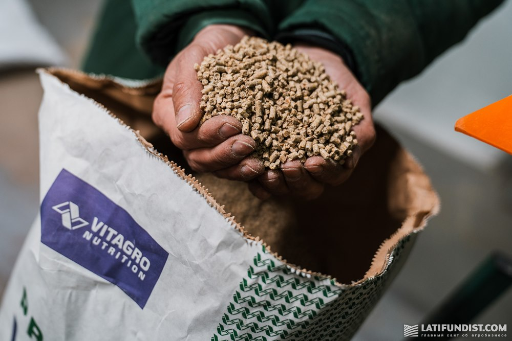 Продукция завода VITAGRO Nutrition