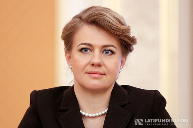 Заместитель аграрного министра по вопросам евроинтеграции Владислава Рутицкая