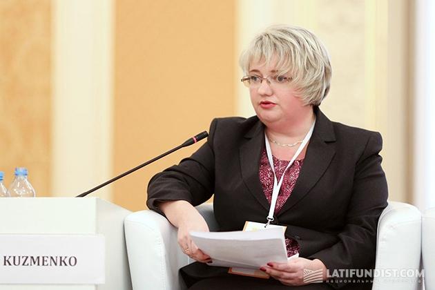 Представитель ЕБРР Леся Кузменко