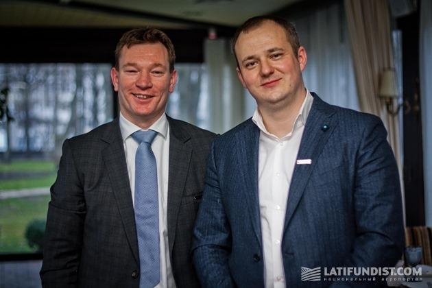Питер ван Дорен и Максим Шевчук