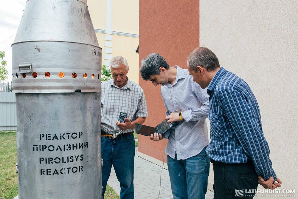 Сотрудники Института возобновляемой энергетики НАН Украины