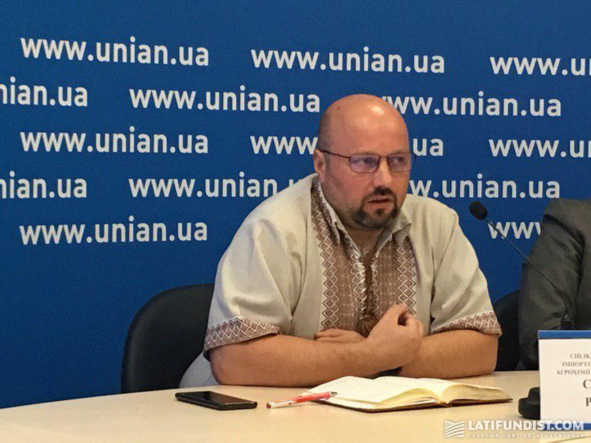 Сергей Рубан, глава Ассоциации производителей, импортеров и трейдеров агрохимии