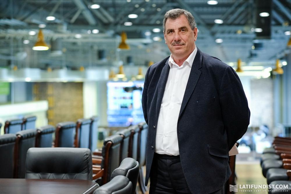 Владимир Фантух, заместитель генерального директора по вопросам инноваций и развития агробизнеса Ukrlandfarming