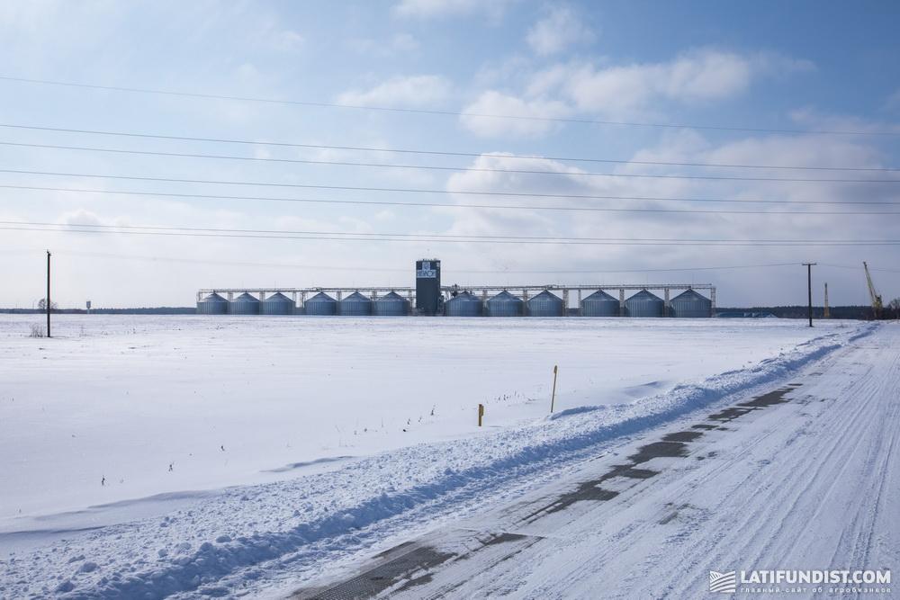 Элеватор компании «НИБУЛОН»