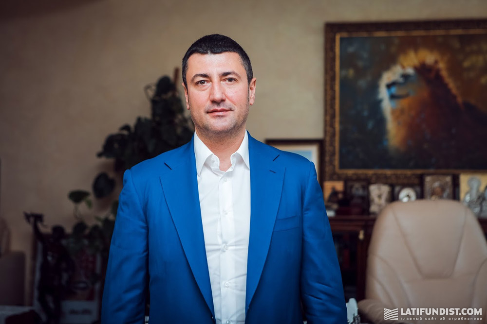 Олег Бахматюк, собственник UkrLandFarming