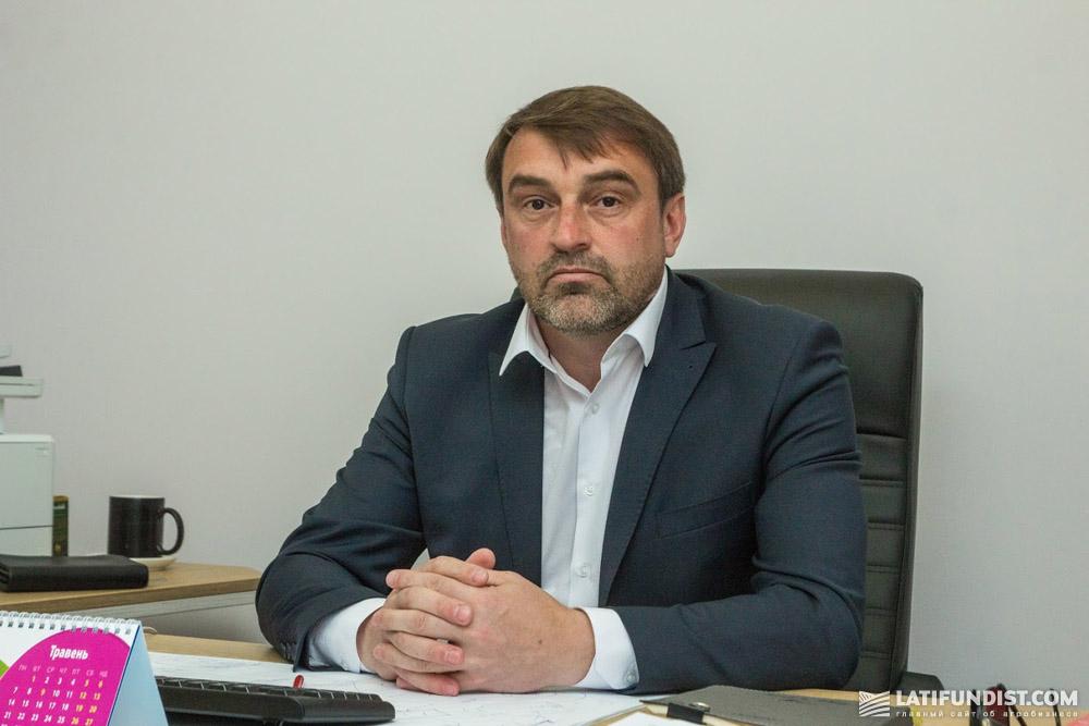 Виталий Ставничук, руководитель агронаправления «Эпицентр К»
