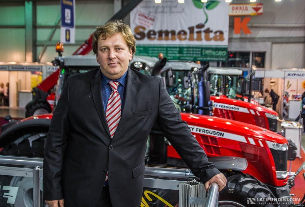 Антон Костырко, директор по маркетингу корпорации AGCO в Восточной Европе