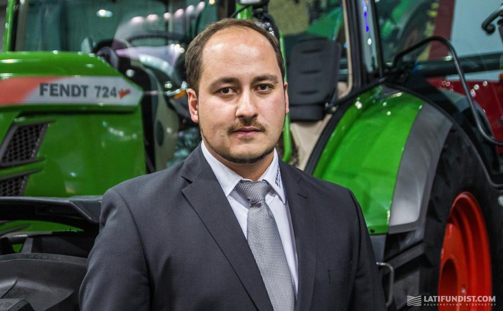 Фарид Абу Хадид, руководитель подразделения продаж сельскохозяйственной техники «Цеппелин Украина»