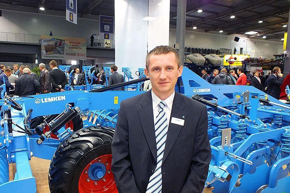 Артем Калашник, директор компании «Lemken Украина». Источник: agropravda.com