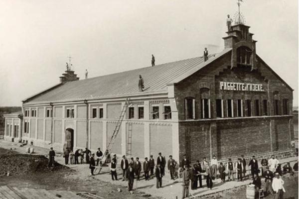 Сахарный завод KWS в  Виннице, 1900 год