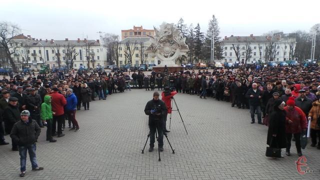 АгроМайдан в Хмельницком