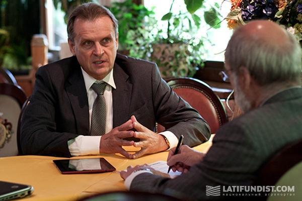 Бизнес-завтрак с Леонидом Козаченко и Жан-Жаком Эрве