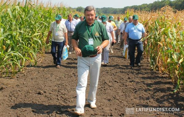 Директор по развитию проектов «Компании Маис», доктор сельскохозяйственных наук, профессор Юрий Пащенко