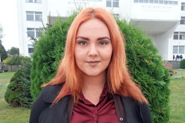 Ксения Федик, студентка 3 курса биолого-технологического факультета Сумского НАУ