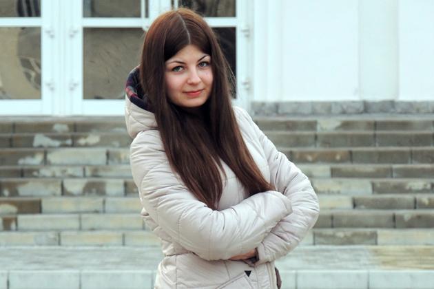 Ольга Мазур, студентка 4 курса Сумского НАУ