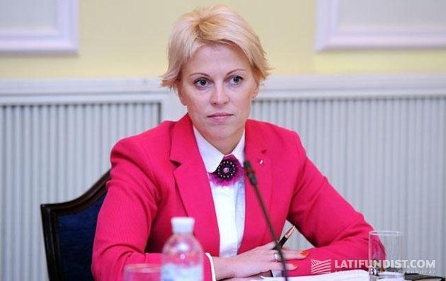 Заместитель министра финансов Украины Елена Макеева