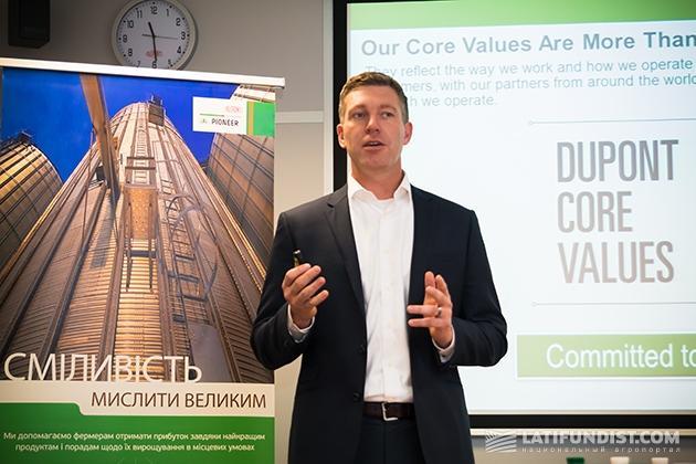 Джефф Роуи, региональный директор DuPont Pioneer в Европе