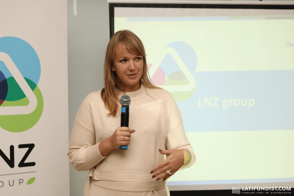Юлия Каменева, директор отдела маркетинга LNZ Group